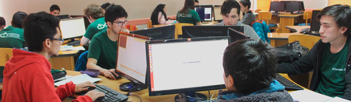 UBB preparó a estudiantes que participarán en Olimpiada Chilena de Informática