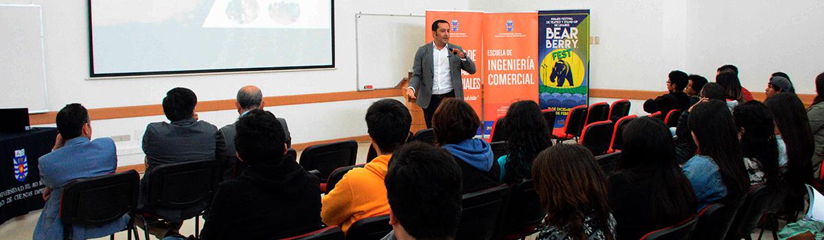 Escuela de Ingeniería Comercial realizó workshop de emprendimiento e innovación