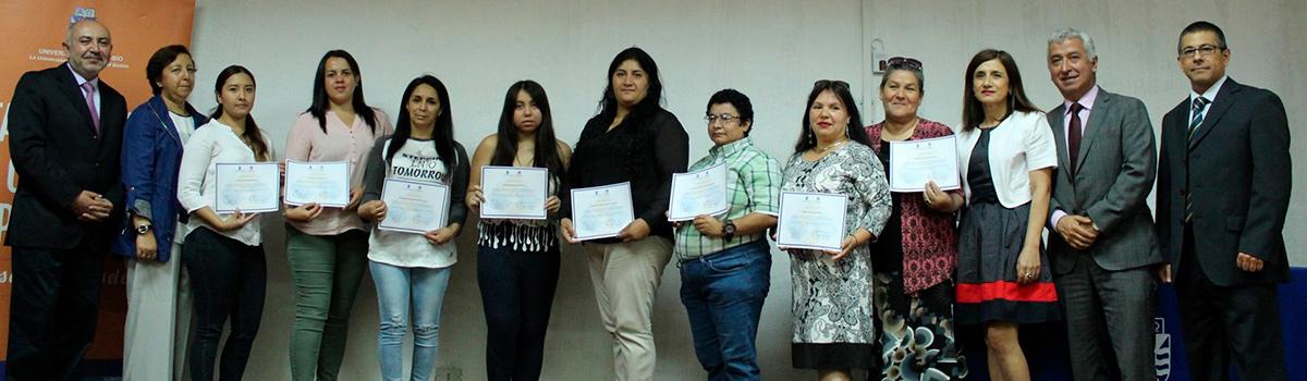 Programa de Aprendizaje y Servicio certifica a emprendedoras de Chillán Viejo y Concepción