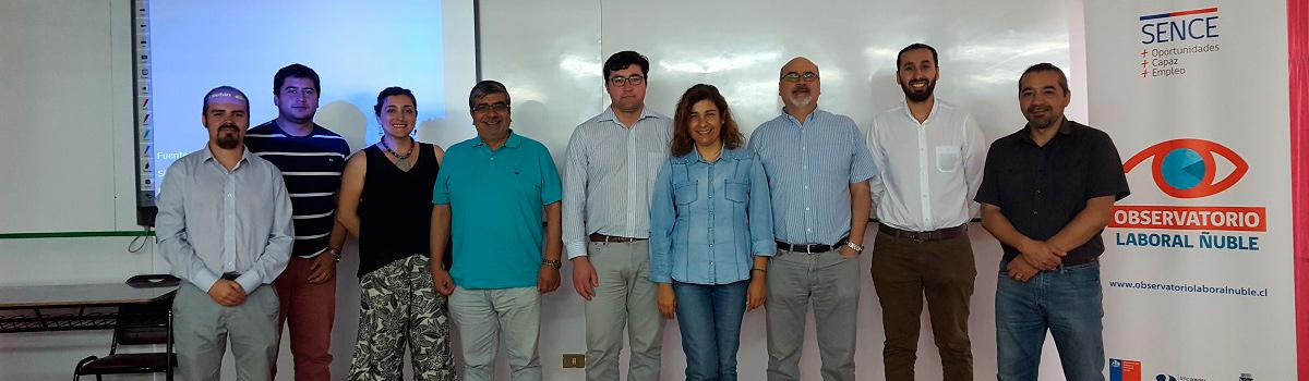 Observatorio Laboral Ñuble se nutre de su par de Maule en análisis de datos cualitativos