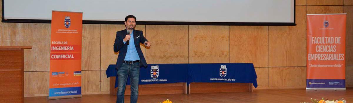 Estudiantes de Ingeniería Comercial realizaron el XIII Seminario de marketing UBB