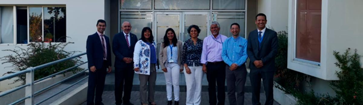 Reunión entre Facultad de Ciencias Empresariales y Telefónica del sur