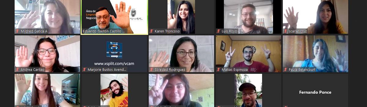 Académico de la Face UBB lidera exitoso Programa de Creación de Negocios
